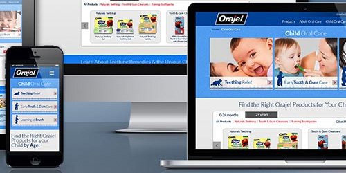 Orajel Website